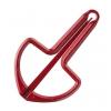 Schwarz 844967 Drumla Matowe, kolor czerwony, 65mm, Nr. 8