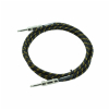 DiMarzio EP1710SSBY Overbraid Instrument Cable, Black/Yellow