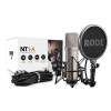 Rode NT1-A Kit studio condenser microphone with accessories