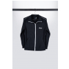 Ibanez ITT12-L tracksuit top black with wihte logo at shirtfront gr. l