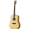 Ortega CORAL-20L acoustic guitar 6-str. ortega daowood/sitka, solid top lefty, incl. gigbag