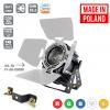 Flash Pro LED PAR 64 300W 5in1 COB RGBWA VINTAGE SHORT + BARNDOOR mk2 oldschool spot