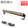 Flash Pro LED WASHER 12x30W WHITE 4in1 COB SHORT 12 SECTIONS mk2 LEDBAR - professional light bar with white light