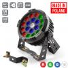 Flash Pro LED PAR 64 19x10W RGBW 4in1 IP65 mk2 ALU HOUSING POWERCON TRUE SOCETS professional outdoor spotlight