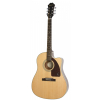 Epiphone J15 EC Deluxe Natural electroacoustic guitar with case