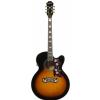 Epiphone J-200EC Studio Solid Top Fishman Sonitone VS Vintage Sunburt electroacustic guitar