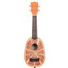 Kala Novelty Orange soprano ukulele
