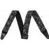 Fender 2″ Hawaiian Strap, Black Floral Strap