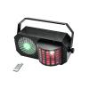 Eurolite LED Triple FX Laser Box - LED lighting effect with threefold effects: derby, RG laser (2M) and stroboscope