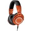 "Audio Technica - Limited-Edition ATH-M50x Headphones in ""Lantern Glow"" Metallic Orange"