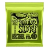 Ernie Ball 2221 Regular Slinky Nickel Wound Electric Guitar Strings (10-46)