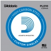 D′Addario PL010 single guitar string